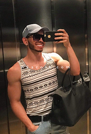 Bryan Spinetty - Male escort in Madrid